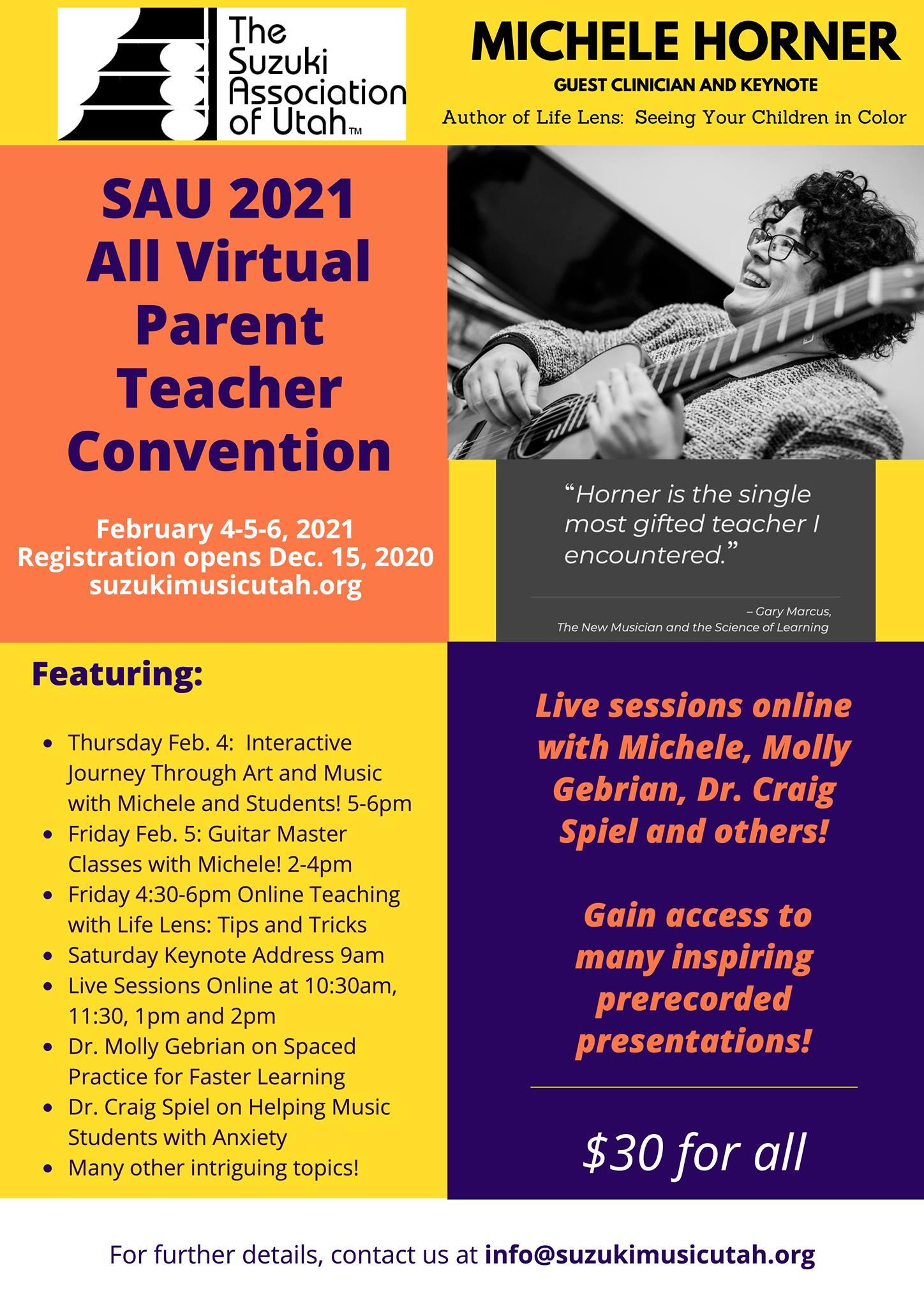 Parent Teacher Convention 2021