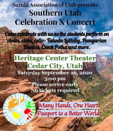 Southern Utah Celebration