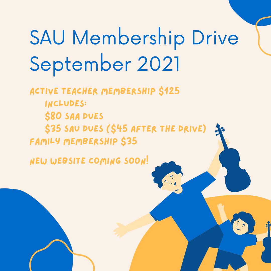 Membership Drive Coming Soon!
