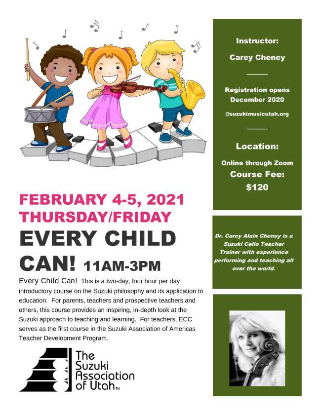 Every Child Can February 2021