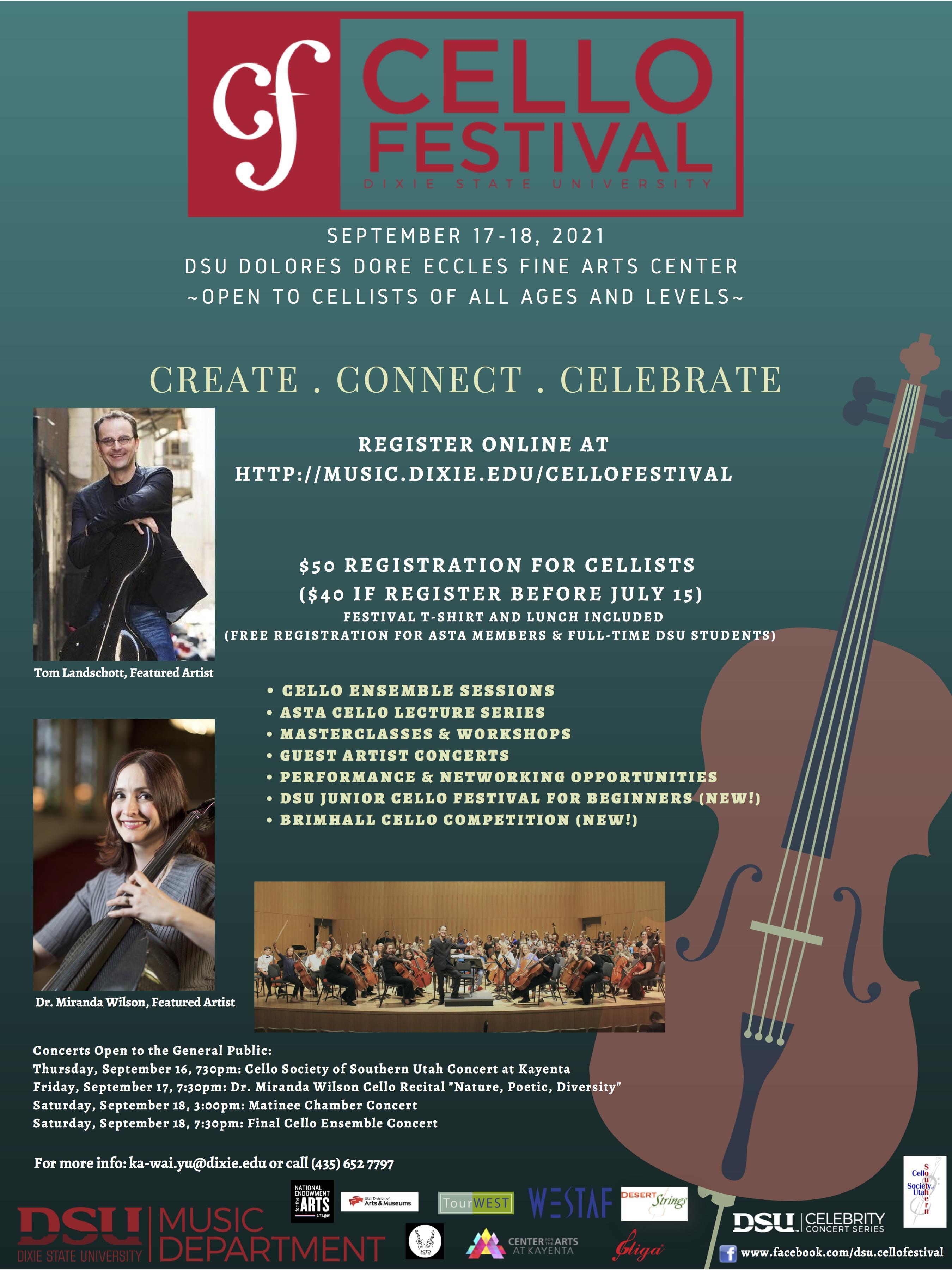 PAID AD: DSU Cello Festival 2021